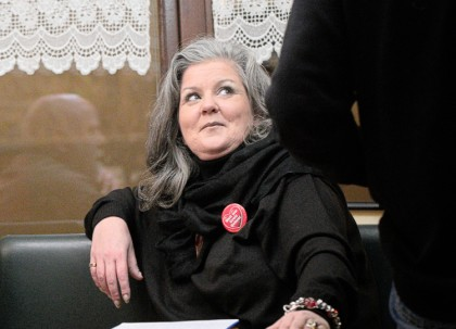 Martina Högger beim Greizer Geplauder