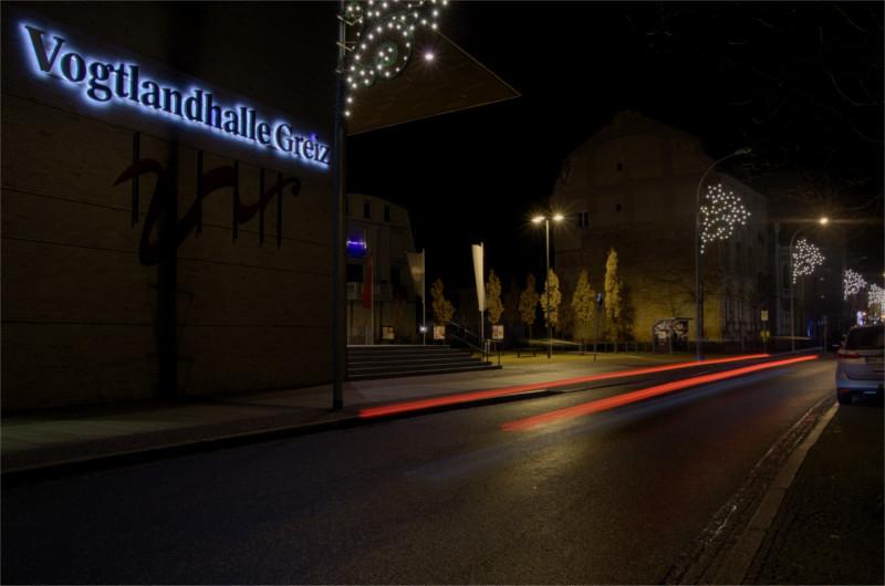 Hier ist der Platz für das Winterdorf 2015 in Greiz zu sehen